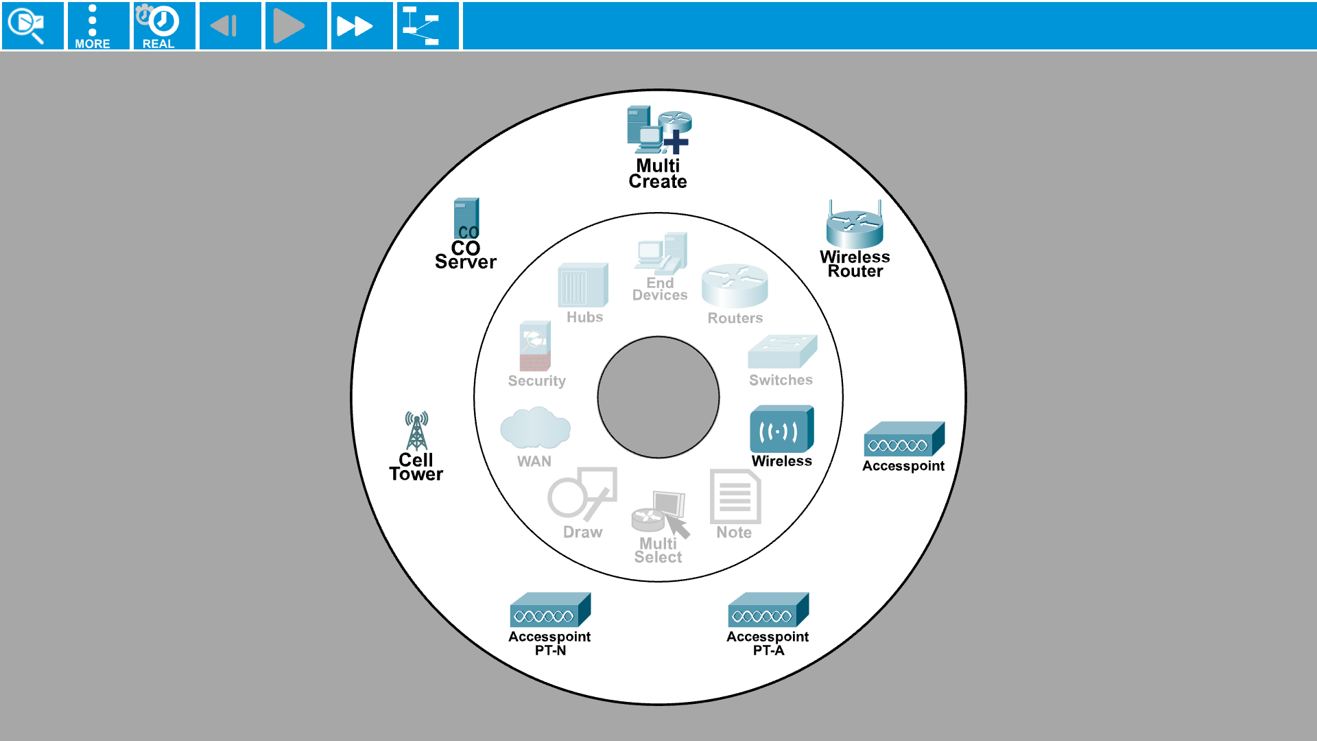 Packet Tracer Mobile 2.1 - Wireless routers and Access Points
