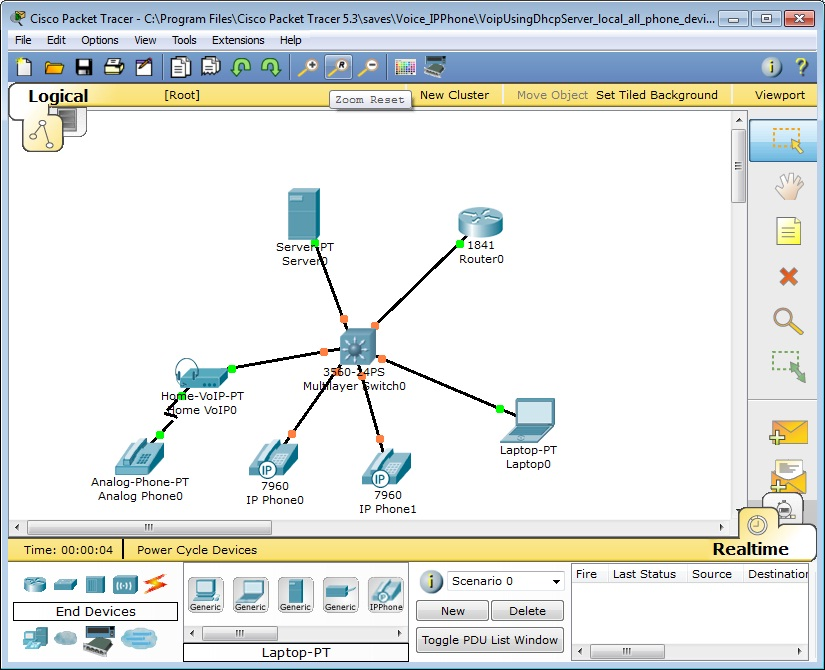 Cisco Packet Tracer 5 3 features - Packet Tracer Network