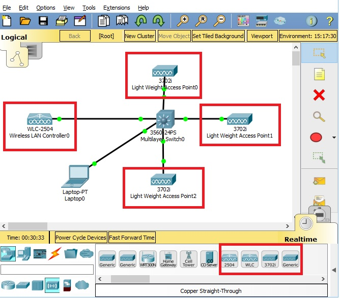 Packet Tracer 7 1 - WLC configuration - Packet Tracer Network