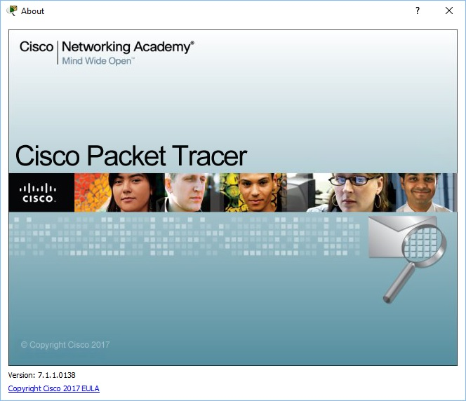Packet Tracer 7.1.1 build 138