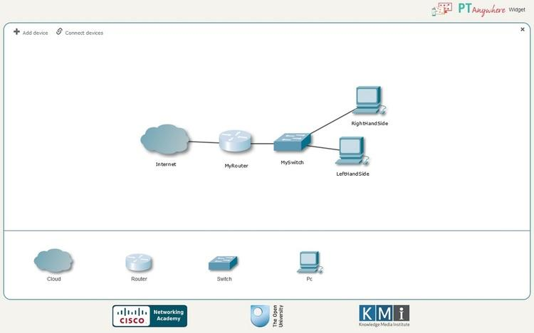 Try Cisco Packet Tracer online using PTAnywhere