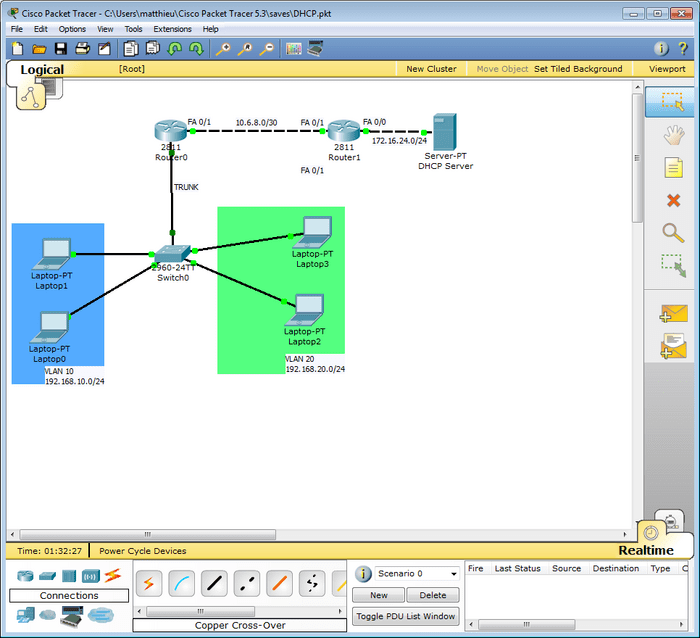 packet tracer 7 1 1 tutorial dhcp configuration packet tracer
