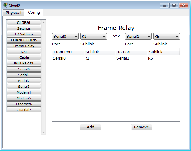 Packet Tracer 7.1.1 tutorial - Frame Relay configuration - Packet ...