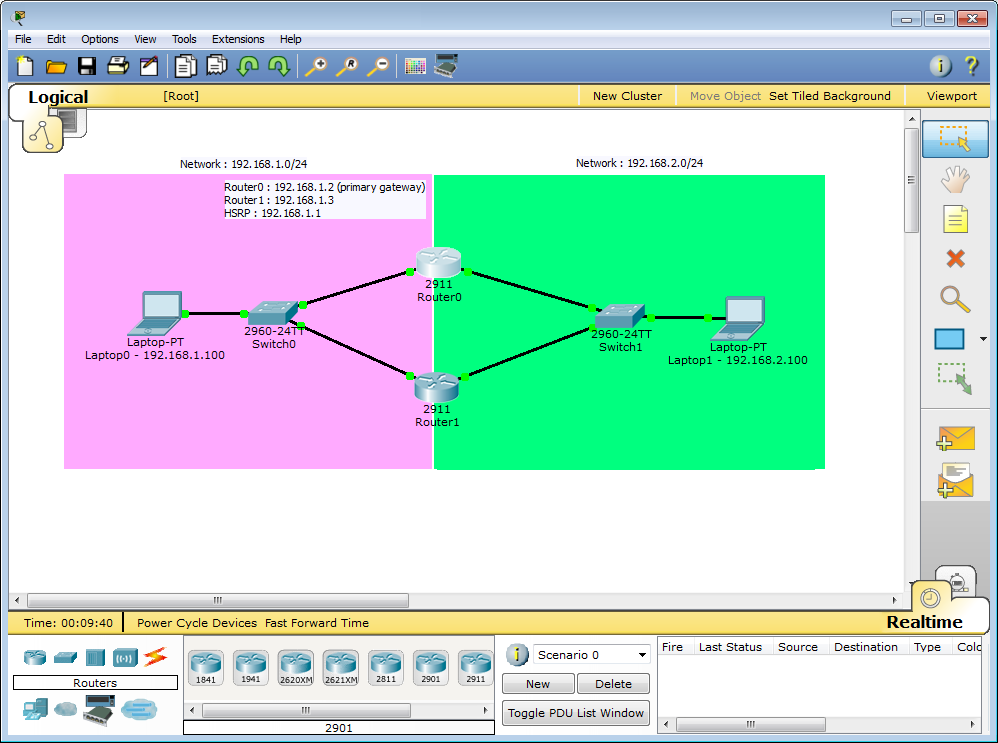 Packet Tracer 7 2 1 - HSRP Configuration - Packet Tracer Network
